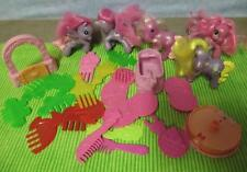 G4 FRIENDSHIP IS MAGIC My Little Pony McDonalds G3 Lot Combs horse toys cake top