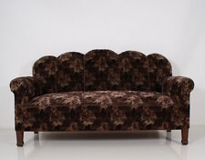 ART DECO SOFA  canapé floral orig. coverings & upholstery in excellent condition