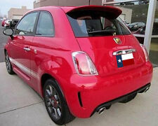 Fiat 500 2012-2015 Rear Spoiler (Larger Version) Primer Finish Made in the USA
