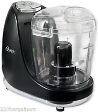 Oster 3320 220 Volt 3-cup Mini Food Chopper Processor 220v Overseas Use