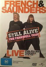 French & Saunders Still Live The Farewell Tour Region 2&4  DVD VGC