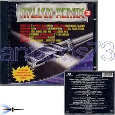 ITALIAN REMIX 2 CD- RAFFAELLA CARRA POOH HEATHER PARISI
