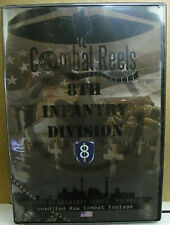 COMBAT REELS DVD 8TH INFANTRY DIVISION INVASION OF NORMANDY COMBAT FOOTAGE NEW