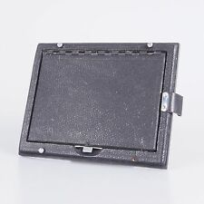 `Graflex Vintage 3 1/4 X 4 1/4 Ground Glass Folding Viewing Back For Camera