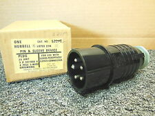 Hubbell 520P5 20A 4P 5W Plug Pin & Sleeve