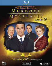 Murdoch Mysteries Season 9 Blu Ray New Series Nine Complete Ships Worldwide