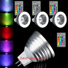 Hot 4W E27 GU10 MR16 RGB Color Led Spotlight Bulb Bombilla Home Party Decor Lamp