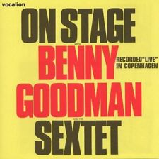 """Benny Goodman ON STAGE WITH BENNY GOODMAN AND HIS SEXTET """"LIVE"""" IN COPENHAGEN"""