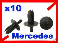 10 MERCEDES  wheel arch splash guard retainer clip plastic fastener 63M