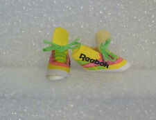 Barbie Shoes -Reebok Sneaker Covers/Sneakers May Also Fit Some Skipper & Blythe