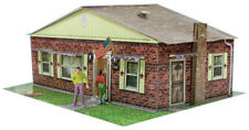 "BK 4321 1:43 Scale ""Brick Rambler"" Photo Real Scale Building Kit"