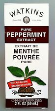 Watkins Pure Peppermint Extract 2 oz