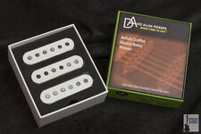 NEW David Allen Strat Cat Pickup Set White Ships Worldwide