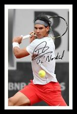 RAFA NADAL AUTOGRAPHED SIGNED & FRAMED PP POSTER PHOTO