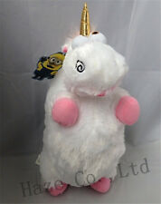 """Despicable Me Agnes Fluffy Unicorn 16"""" Soft Plush Doll Toy Pillow KID GIFT"""