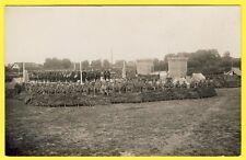 cpa CARTE PHOTO MULHOUSE souvenir de la Fête du 14 Juillet 1934 SOLDAT MILITAIRE