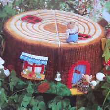 DORMOUSE HOUSE,MICE&FURNITURE TOY SEWING PATTERN,& INSTRUCTIONS TO MAKE A WIGWAM