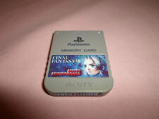 Tested Official Playstation 1 **Final Fantasy VII Aerith** Memory Card US/Japan