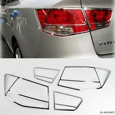Chrome Rear Tail Lamp Cover Exterior for Kia Cerato / Forte 4DR Sedan 2009-2012