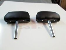 New Pair of Complete Head Rests Headrests MGB 1970-80 Made in the UK Black