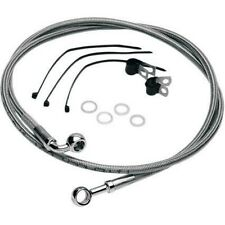 Std Length Front Stainless Steel Brake Line Kit Clear Drag Specialties 640110