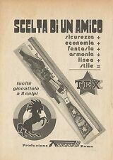 X4582 Fucile giocattolo TEX - Romanelli - Pubblicità 1976 - Advertising