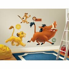 LION KING BiG Wall Stickers Simba Timon Pumbaa Room Decor Decal Jungle Animal R1