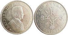 MONACO  ,  RAINIER  III  ,  50  FRANCS  ARGENT  1974  ,  FLEUR  DE  COIN
