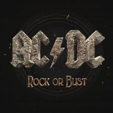 AC/DC 'ROCK OR BUST' LP 180G VINYL + CD NEW / FACTORY SEALED / GATEFOLD