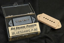 Rio Grande Bluesdawg P-90 Dog Ear Pickup-Fat, articulate sound for LesPaul