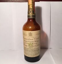 Collectible 1935 Canadian Club Bottle With All Seals INTACT! Hiram Walker & Sons