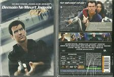 DVD - JAMES BOND DEMAIN NE MEURT JAMAIS : PIERCE BROSNAN NEUF EMBALLE NEW SEALED