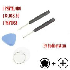 Kit ATTREZZI GIRAVITI PENTALOBO+CROCE per APPLE IPHONE 3G 3GS 4G DISPLAY COVER