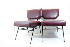 2 Poltrone Armchairs 60' Mid Century Minimal Interior Aestetics