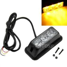 3W High Power 3 LED Waterproof Car Truck Emergency Strobe Flash Light Amber New