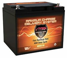 VMAX MB86-50 12V 50AH for BRAVO EVT-345 AGM VRLA SLA HI CAPACITY Grp 21R BATTERY
