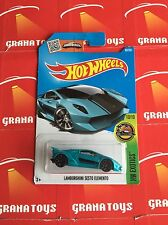hot wheels Lamborghini Sesto Elemento Blue
