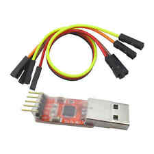 USB 2.0 to TTL UART 5PIN Module Serial Converter CP2102 STC PRGMR Free cable