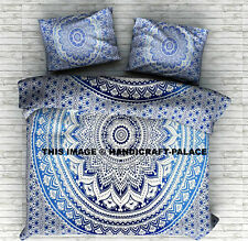 Indian Mandala Quilt Duvet Cover Bedding Cotton Single Size Doona Cover Bed Set