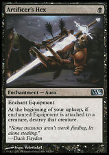 MTG 2x ARTIFICER's HEX - ANATEMA DELL'ARTEFICE - M14 - MAGIC