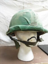 US Military Vietnam War Era M1 Helmet (steel pot, liner, & cover)