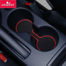 Gate slot pad For Mazda CX-3 2016-2017decoration Accessories Anti-Slip Mat 13pcs