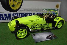 CATERHAM SUPER SEVEN JPE Jaune au 1/12 kit monté TAMIYA 10203 voiture miniature