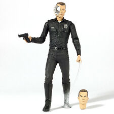 "Terminator 2 T2 Judgement Day T-1000 Steel Mill 7"" Action Figure NECA"