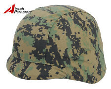 Tactical Military Helmet Cover Digital Woodland for M88 PASGT Kelver Swat Helmet