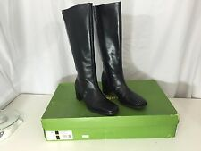 "EASY SPIRIT ""ESUTTERING"" Black Women's Size 6M Knee-High Leather Boots"
