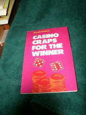 CASINO CRAPS FOR THE WINNER by AVERY D. CARDOZA 1982 PB