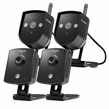 Zmodo 4 720p HD Indoor&Outdoor Wireless IP Network Home Security Camera System