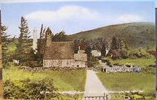 Irish Postcard ST KEVIN'S Kitchen GLENDALOUGH Wicklow Ireland J Byrne Gaeilge