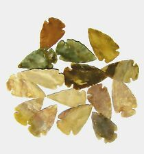 """(1) NEW HAND KNAPPED STONE AGATE ARROWHEADS FOR 1"""" to 2"""" size"""